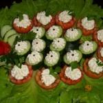 краставици и домати шмеркезе