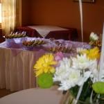 Декорация с цветя за вашето празненство и кетъринг услуги от Фирма Съврис Плюс